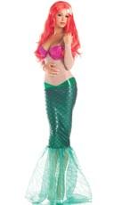 Sweet Mermaid Costume - as shown