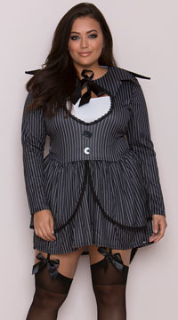 Plus Size Bad Dreams Babe Costume