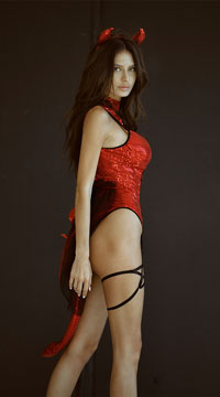 137624845d2 ... Pentagram Devil Costume - Red ...