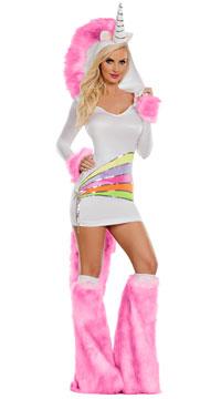 Rainbow Unicorn Costume - Rainbow