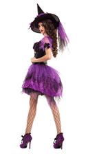 Perfect Purple Witch Costume - Purple