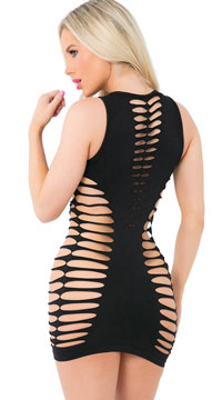 Love or Lust Seamless Dress - Black