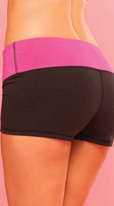 Strike A Pose Yoga Short - Black