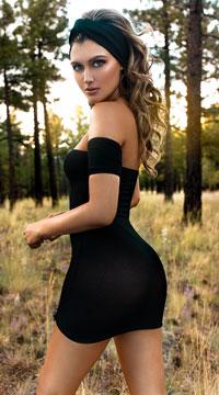 All Not Wrong Dress - Black