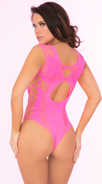 Some Body To Love Bodysuit - Pink