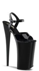 10 Inch Heel Platform Ankle Strap Sandal - as shown