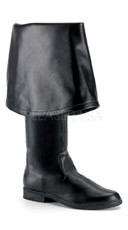 Men's Pirate Boot with Bell Cuff - as shown
