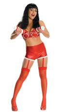 Katy Perry Whipped Cream Costume - Red