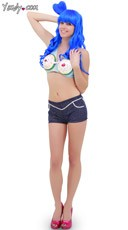 Katy Perry California Gurl Costume - Blue
