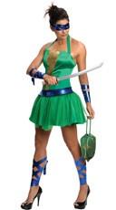 TMNT Female Leonardo Costume - Green