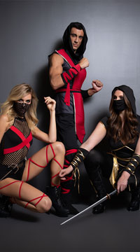 Ninja of Darkness Costume - as shown