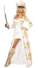 Deluxe Pirate Queen Costume