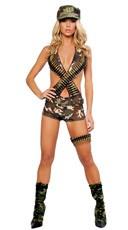 Military Babe Costume