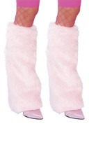 Fur Boot Covers - Baby Pink