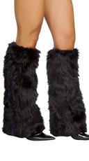 Fur Boot Covers - Black