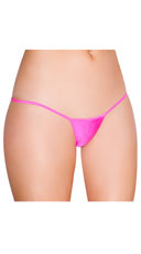 Low Rise G-String - Hot Pink