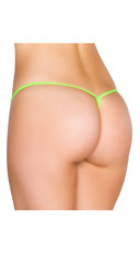 Low Rise G-String - Lime