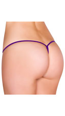 Low Rise G-String - Purple