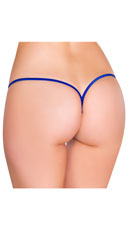 Low Rise G-String - Royal Blue