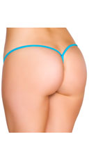 Low Rise G-String - Turquoise