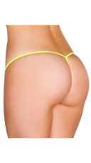 Low Rise G-String - Yellow