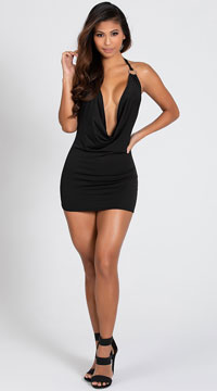O Ring Dress - Black