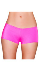 Low Rise Smooth Shorts - Hot Pink