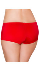 Low Rise Smooth Shorts - Red