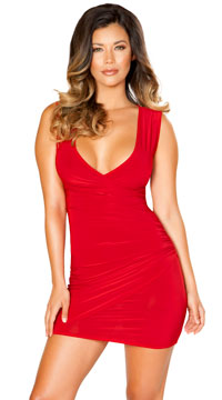 Siren Mini Dress - Red