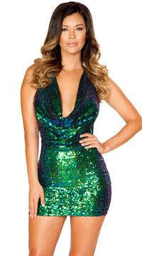 Shimmering Sequin Dress