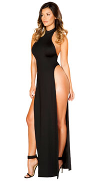Stunning Black Maxi Dress - Black