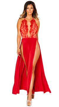 Radiant Red Dress