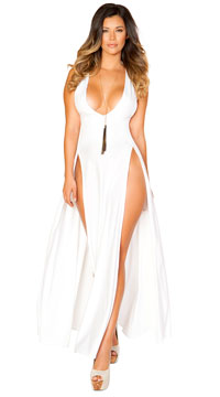Ethereal White Maxi Dress - White
