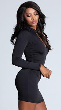 Call Me Baby Black Dress - Black