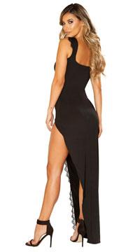 Femme Fatale Black Dress - as shown