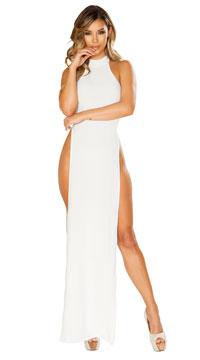 Stunning White Maxi Dress - White