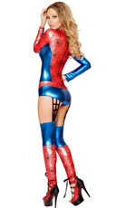 Red Spider Girl Costume