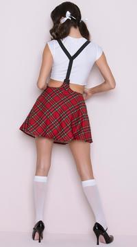 Sexy Study Partner Schoolgirl Costume
