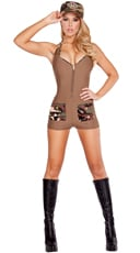 Sultry Soldier Costume