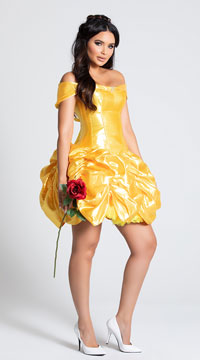 Foxy Fairytale Cutie Costume - Yellow