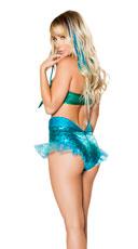 Mermaid Jewel Bikini Set - Blue/Green