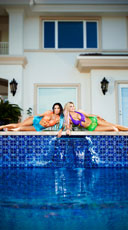 Mermaid Jewel Bikini Set - as shown