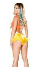 Bright Orange and Yellow Mermaid Set - Yellow/Orange