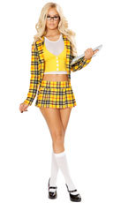 school girl without a clue costume sexy cher costume