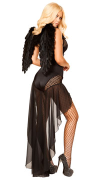 Angel Of Darkness Costume - Black
