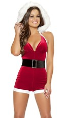 Christmas Fantasy Costume - Red
