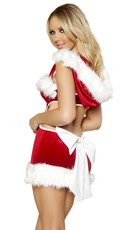 Sexy Claus Costume - Red