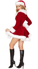 Sexy Velvet Santa Costume