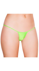 Mini G-String - Lime Green
