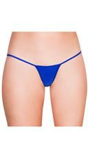Mini G-String - Royal Blue